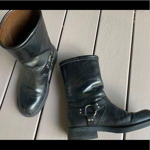 J Crew moto-style boots